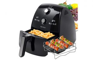 Secura Electric Hot Air Fryer fries